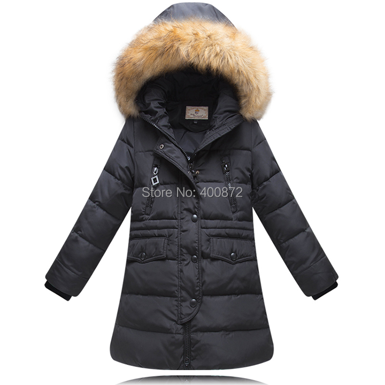 Aliexpress.com : Buy 2016 winter Girl 100% down jackets coat Down ...