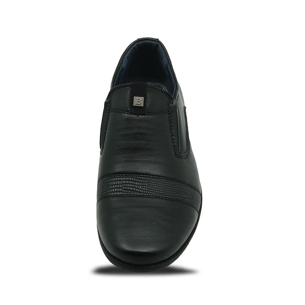 Apakowa 2017 New Children Leather Shoes For Boys Dress Shoes Black Flat  Dancing Wedding Lace Up PU Leather School Students Shoes-in Leather Shoes  from ... c8768d008239
