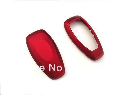 Rojo metálico remoto sin llave caja de protección 1 unids nueva para 2007-2013 Ford Mondeo MK4 Durable