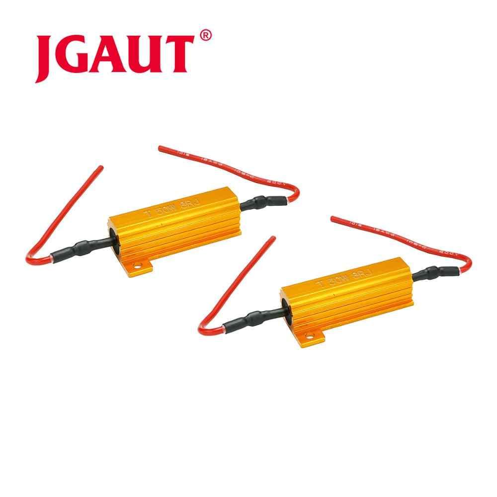 50W-8O нагрузочный резистор Fix светодиодный лампочка быстрая гипер вспышка сигнал поворота мигание код ошибки светодиодный резистор нагрузки алюминиевый корпус с проволочной обмоткой