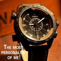 2016 Luxury Brand Yazole Fashion Watches Men Leather Casual Watch Waterproof Military Relogio Masculino Sport Men
