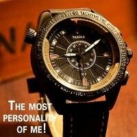 2016 Luxury Brand Yazole Fashion Watches Men Leather Casual Watch Waterproof Military Relogio Masculino Sport Men