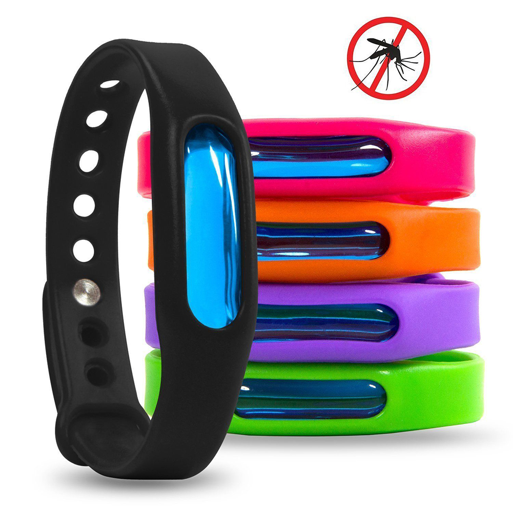 5pcs/set Bracelet With Anti Mosquito Pest Insect Bugs Control Mosquito Repellent Wristband For Kids Mosquito Killer