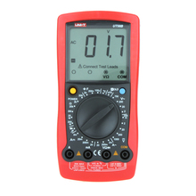 UNI-T UT58B LCR Meter Handheld Digital Multimeter Capacitance/ Temperature test Multitester
