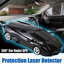 20 шт./лот 360 Автомобильный трекер Скорость Радар детектор голосовое оповещение Предупреждение радар gps Защита скорость с противоскользящим