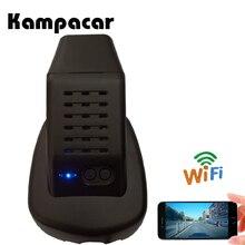 Kampacar Wifi Auto Dual Lens DVR Auto Specchio Retrovisore Per Volvo XC60 T8 2018 S90 2019 Video Recorder Auto Registrar del precipitare Della Macchina Fotografica