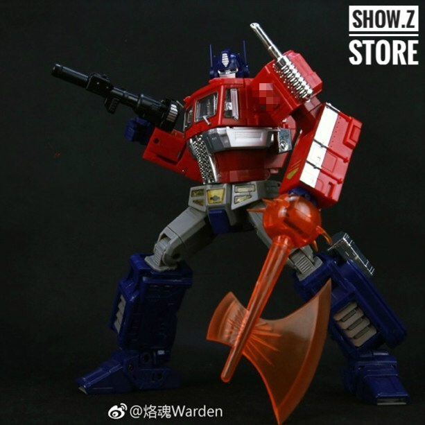[Show.Z Store] 4th Party MP-10 OP MasterPiece MP10 Action Figure Transformation W/ Trailer [show z store] fanstoys ft 06x sever iron dibots no 3 g1 masterpiece limited edition mp transformation action figure instock