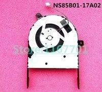 Original novo Laptop/Notebook Ventilador de Refrigeração da CPU Para ASUS X510UQ X505BA x505BP X501UQ X505B NS85B01-17A02