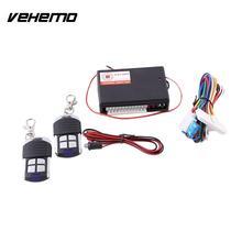 12V RC Remote Control Central Door Locks Keyless Entry System For Universal Car