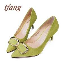 ifang 2016 Women Party Sequined Pumps Women's Shoes Bridal High Heels Women Wedding Pumps Victoria Shoes Woman