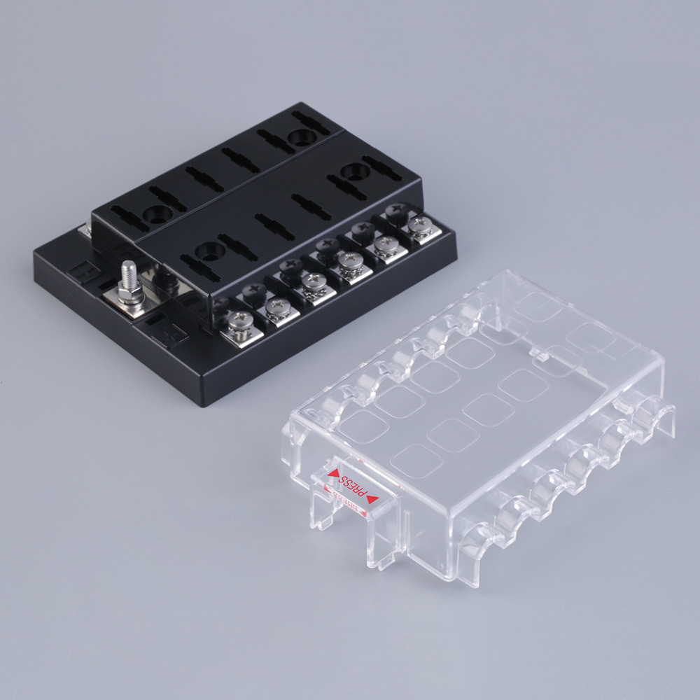 popular fuse box terminals buy cheap fuse box terminals lots from 2017 high quality 12 way circuit car atc ato blade fuse box block holder 32v terminals