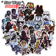 NEW 100 Pcs Star Wars Stickers for Laptop Luggage Bike Motorcycle Car Styling Doodle Cool Home
