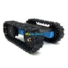 خزان السيارة T10 الصغير ، محرك TT ، مسار مطاطي ، هيكل معدني/إطار/هيكل ، لتعديل التعليم الآلي Tank بها بنفسك نموذج الخزان