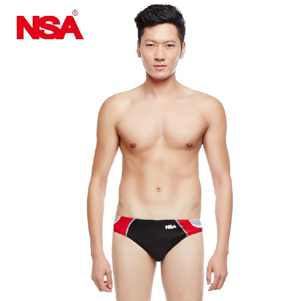 88d2d819bb NSA hot sale low waist Boys racing swimming suit swim briefs competition  swimsuits men Professional trainning swimsuit Triangle