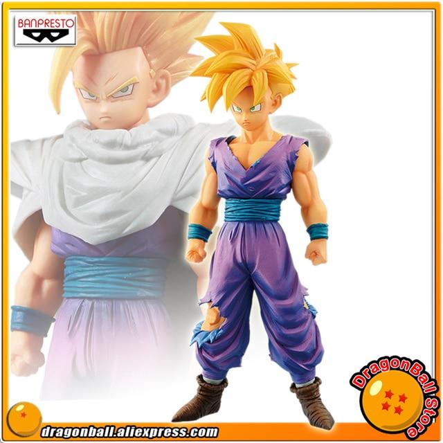 "Japan Anime ""Dragon Ball Z"" Original Banpresto Resolution of Soldiers Grandista Vol.7 Collection Figure - Super Saiyan Son Gohan"
