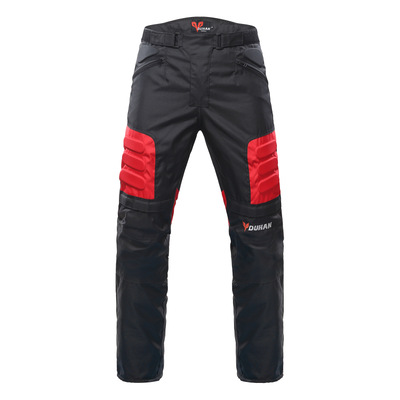 Motorcycle Pants Men Windproof Motorcycle Enduro Motocross Pants Riding Trousers Moto Pants With Knee Protective Gear tkosm motorcycle pants riding road motor windproof pants jeans men trousers racing windproof motorbike pants with knee pads