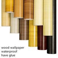 Самоклеющиеся толстые водонепроницаемые ПВХ наклейки на дерево, пленка, Боинг, обои, шкаф, дверь, мебель, ремонт