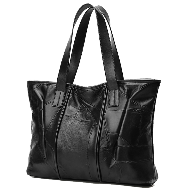 COSSLOO Luxury Handbags Women Bags Designer Leather Female Stitching Handbags Big Women Shoulder Bag Top-Handle Bags sac a main foroch brand women bag top handle bags female handbag designer hobo messenger shoulder bags evening bag leather handbags sac 352