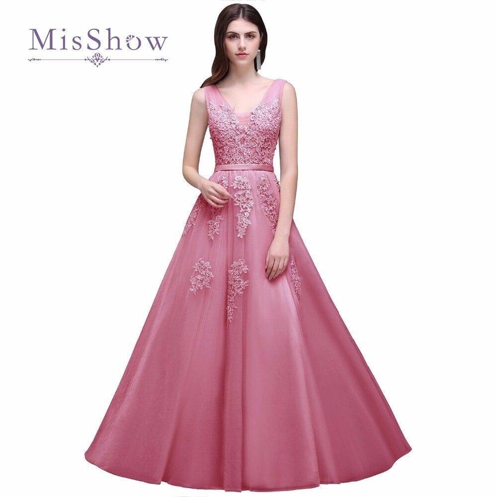 Excepcional Vestido De Novia De La Longitud Del Té De Color Rosa ...