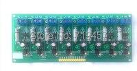 220V Optocoupler Isolation Detection Plate 8 Way Optocoupler Isolation Detection 220V AC Voltage Has A