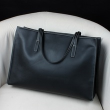 Women Shopping Bag Genuine Leather Female Bag Handbag casual Style Cowhide Large Capacity Totes Big Size Ladies Shoulder Bag