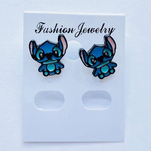 lovely stitch Fashion Anime Cartoon Earring Stud Earrings Women Girls Jewelry Unisex Birthday New Gifts.jpg 640x640 - lovely stitch Fashion Anime Cartoon Earring Stud Earrings Women Girls Jewelry Unisex Birthday New Gifts