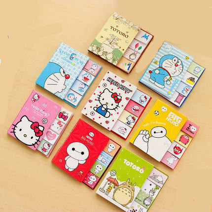 Creative Korean cute cartoon animals Sticky Note Memo Pads Kawaii Gifts For Kids stationery цена и фото
