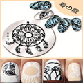 1 Pc BORN PRETTY Round Nail Art Stamp Template Dreamcatcher Design Image Nail Stamping Plate 04
