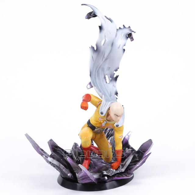Anime UN GOLPE HOMBRE Saitama Resina Figura de Colección Modelo de Juguete 24.5 cm