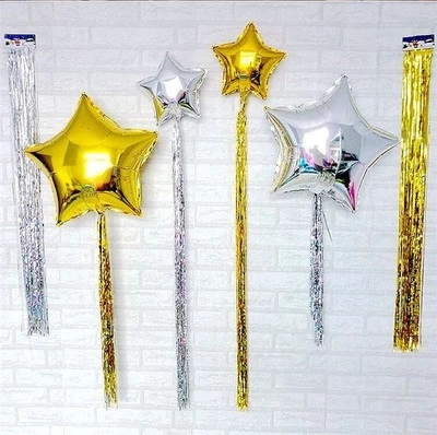10 цветов, 10x100 см, украшение для свадьбы, дня рождения, Рождества, нового года-1