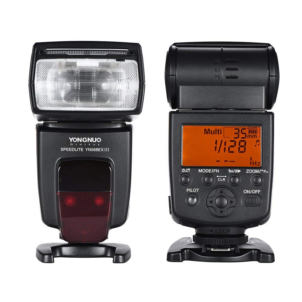 Yongnuo YN-568EX III YN568EX III Wireless TTL HSS Flash Speedlite light for Canon 5D3 5D2 6D 7D 5d mark iv Nikon D800 D750 D7100 yongnuo yn568ex iii wireless ttl sync 1 8000s hss flash speedlite for canon 1dx 1ds 5d mark iii iv 70d 80d 7d 6d 700d 750d