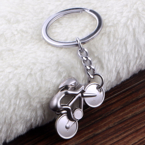 Promo Keychain Bicycle Model Key Chain New Design Cool Luxury Metal Key Holder Bike Drop Ring Keyring For Creative Gift Jewelry #2 — bequmcmvl
