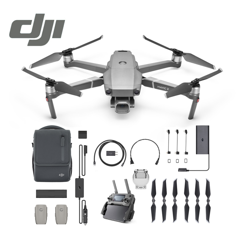 DJI Mavic 2 Pro Zoom Fly More Combo Kit In Store DJI Goggles RE Combo for mavic 2 4K Video RC Helicopter FPV Quadcopter Original квадрокоптер набор dji mavic pro 4k quadcopter бпла чёрный