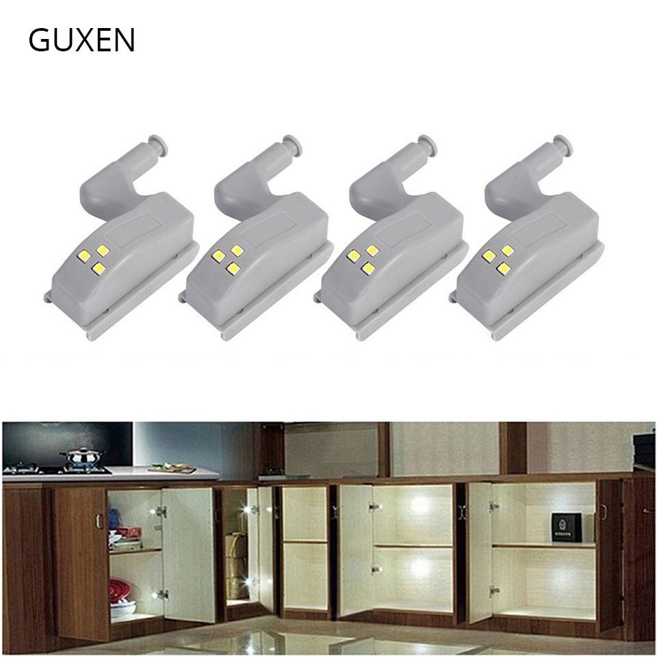 Remarkable Guxen Led Cabinet Light Hydraulic Hinge Light For Kitchen Closet Living Room Warm White White Led Sensor Light 12V Beutiful Home Inspiration Cosmmahrainfo
