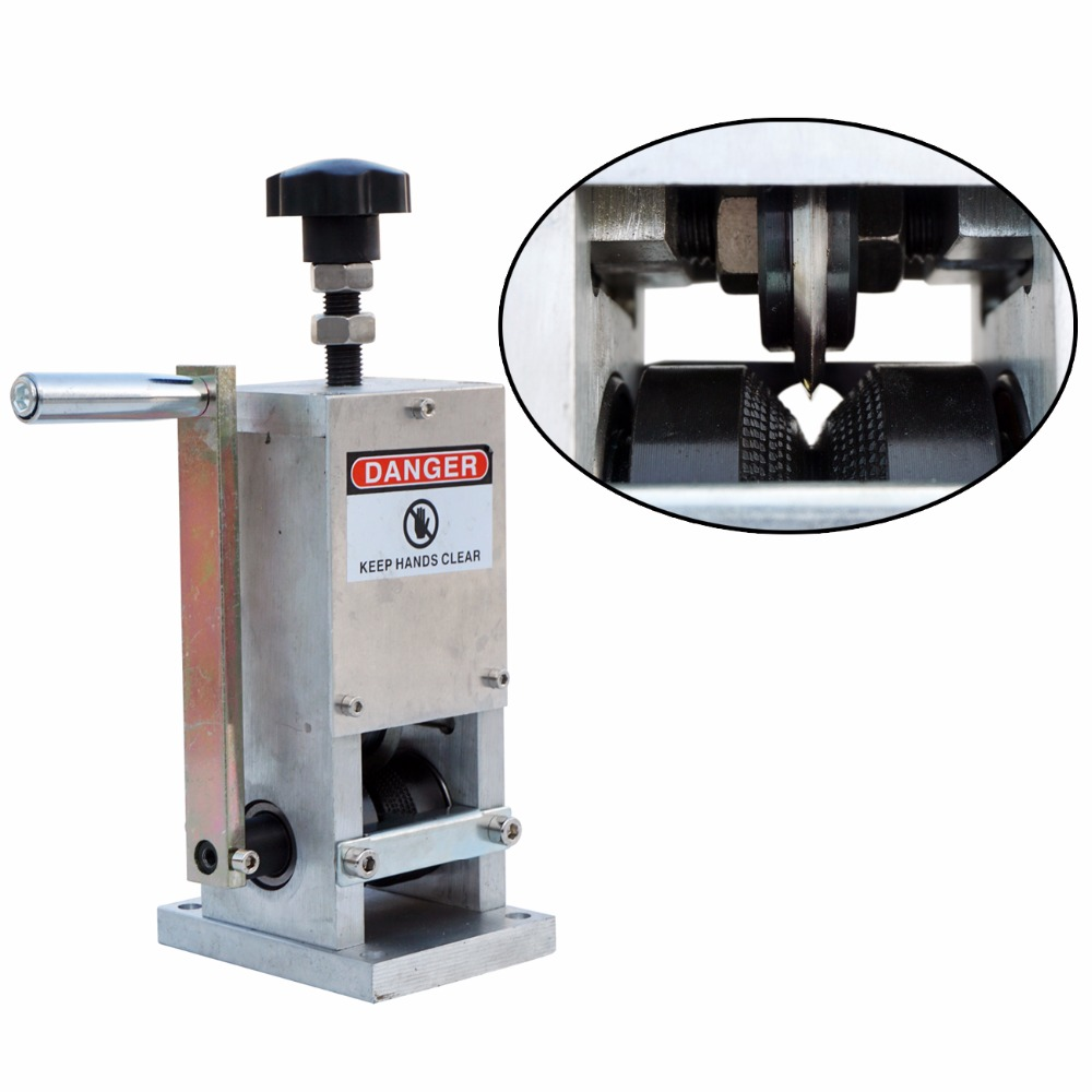 ECO Cable Stripper Wire Stripping Machine Copper Recycle 1.5mm--- 25mm