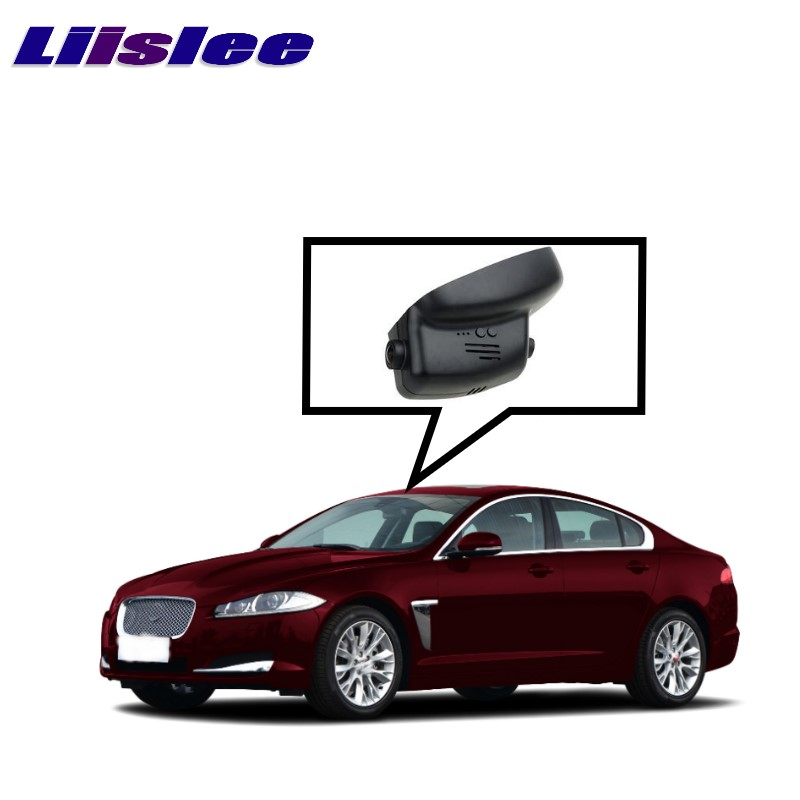LiisLee Car Black Box WiFi DVR Dash Camera Video Recorder For XJ XJ-L X351 Before Facelift 2009~2015 XF X250 2007~2015