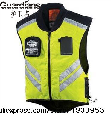 20pcs Wholesale-High Visibility Reflective Safety Vest Cycling Motorbike Motorcycle Racing Equipment Reflective vest