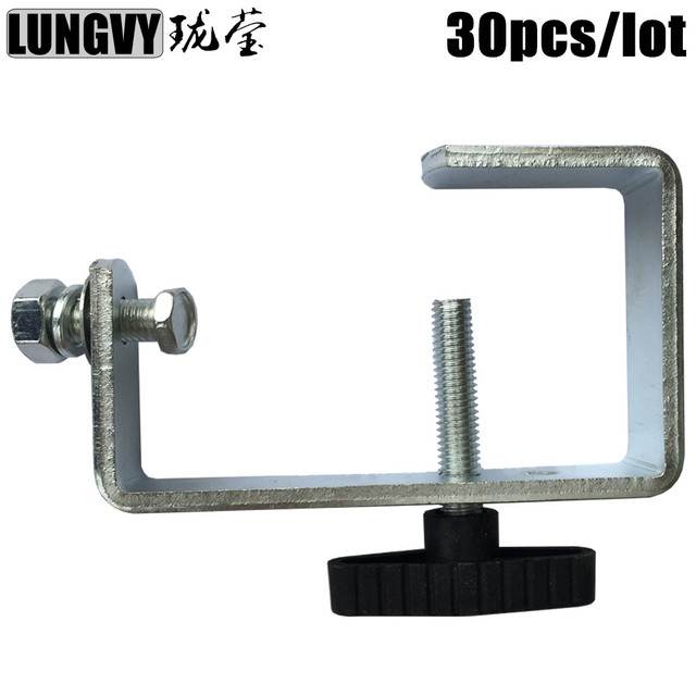 Free Shipping 30pcs/Lot Aluminum Lighting Cl& For Stage Truss Tube 30mm-65mm Led  sc 1 st  AliExpress.com & Free Shipping 30pcs/Lot Aluminum Lighting Clamp For Stage Truss Tube ...