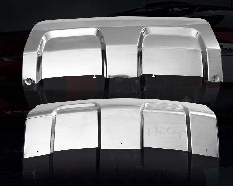 vordere u. hintere Stoßschwellenabdeckung / Gleitplatte für Range - Autoteile - Foto 2
