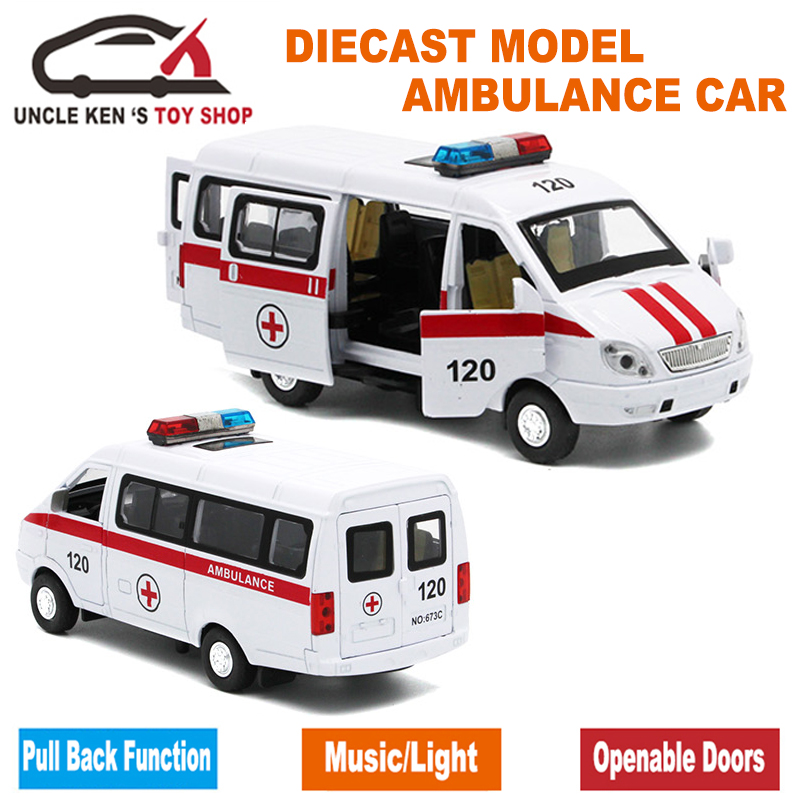 Diecast-Russian-Ambulance-GAZ-Gazel-Scale-Model-Metal-Car-Toys-For-Boys-Or-Kids-As-Gifts-With-Functions-1