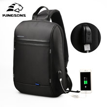 Kingsons High Capacity Chest Bag For Men&Female Canvas Sling Bag Casual Crossbody Bag For Short Trip(China)