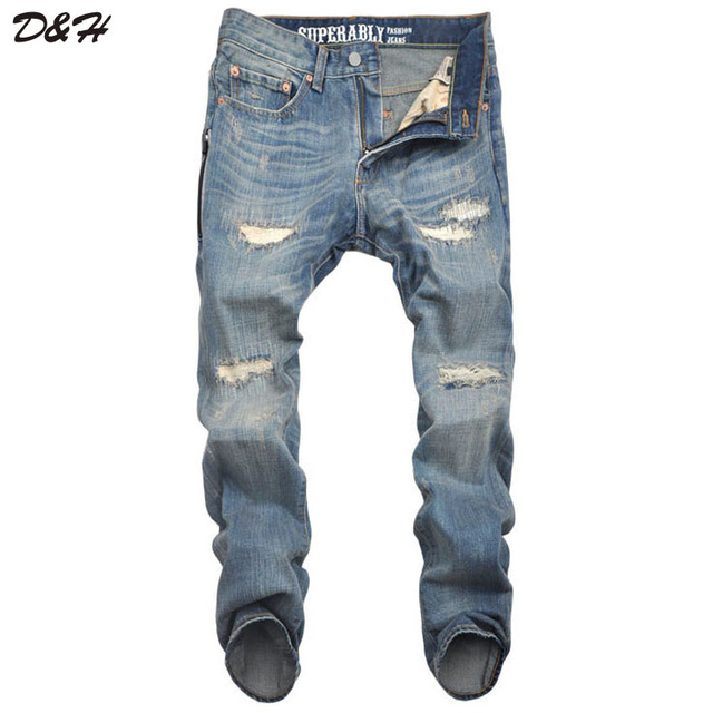 Aliexpress.com : Buy New Designer Style Jeans Men Denim Jeans ...