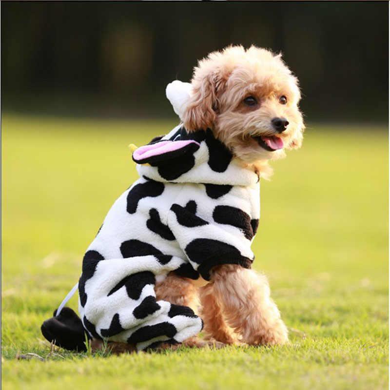 Carino Cane di Animale Domestico Del Costume Caldo di Flanella Felpe Vestito Per Il Cane di Inverno Vestiti Del Cane Giacca Cucciolo di Chihuahua Vestiti per Cani di Taglia Piccola 21S2