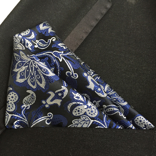 Wedding Pocket Square Good Quality Floral Handkerchief