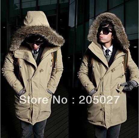 2013 autumn winter plus size 3xl men wadded jacket male with a hood outerwear winter jacket men coat 1.1kg high quality