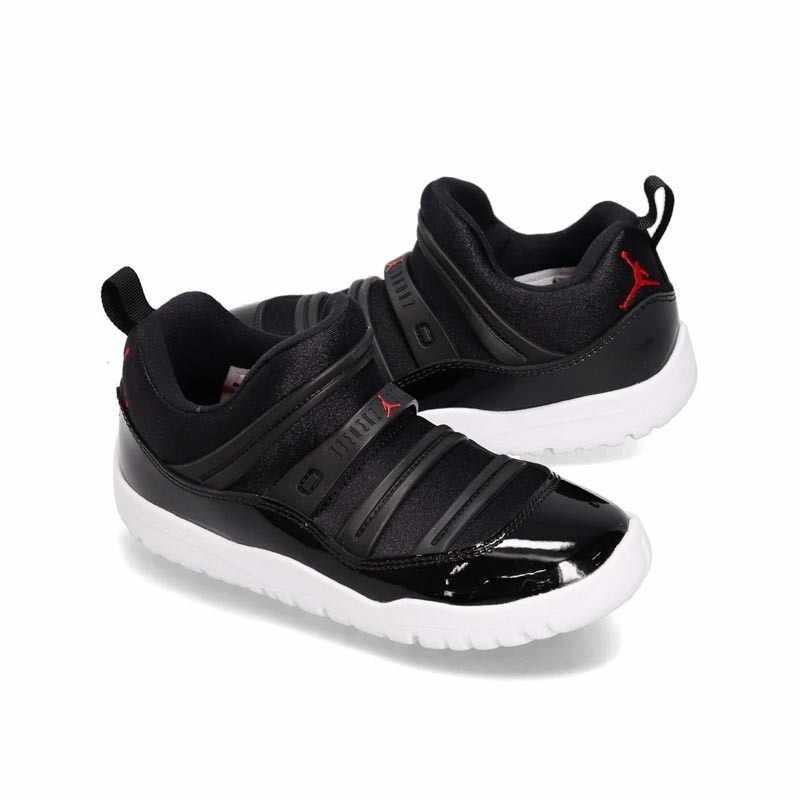Ar jordan 11 pouco flex original crianças sapatos respirável leve tênis de corrida esportes # bq7101