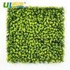 ULAND Artificial Boxwood Hedge Plastic Yellow Plants Leaves Panels Fence Mat Garden Wedding Decoration Yard UV