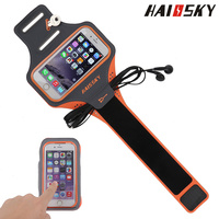 Original HAISSKY Sweatband Waterproof Running Sport Armband Cover Bag For Iphone 6 6s Plus 5s For