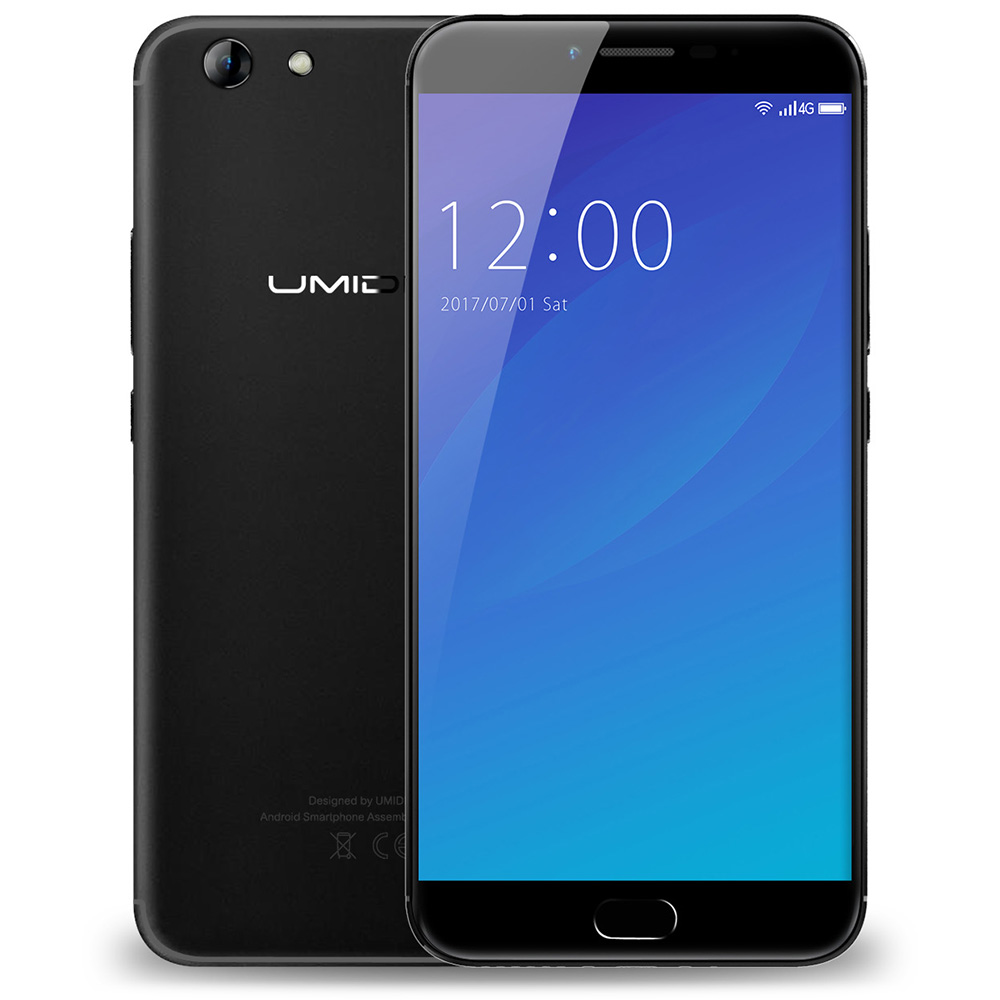 Original UMIDIGI C NOTE 2 4G Phablet 5 5 Inch Android 7 0 MTK6750T Octa Core