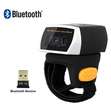 NT-R3 Wearable 1D Bluetooth Barcode Scanner AND NT-R2 Ring 2D QR Reader CCD NETUM